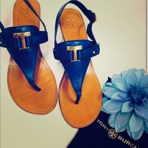 Tory Burch Casey T-Strap Wedge Sandal